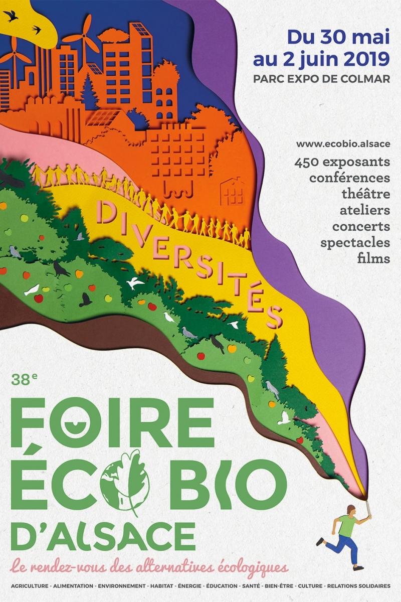 """Résultat de recherche d'images pour """"foire ecobio colmar 2019"""""""